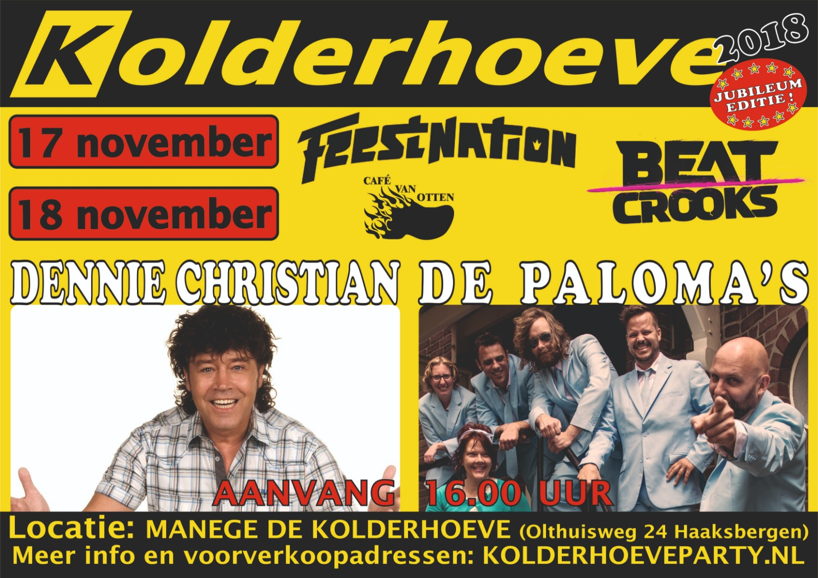 Kolderhoeve Party 2018
