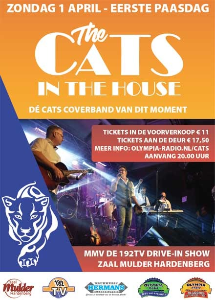 The Cats - Olympia Radio - Hardenberg
